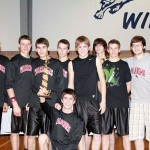 Varsity Boys win 3rd at Paris Hoops Tourney